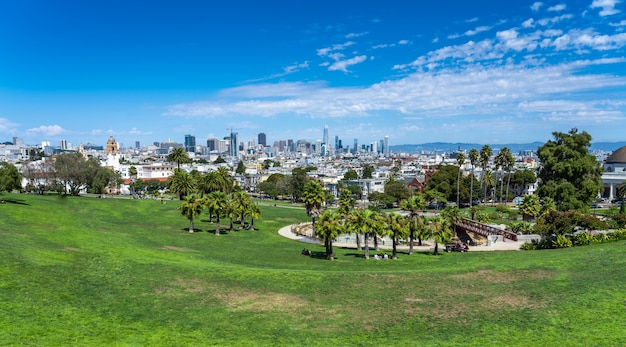 View of dolores park