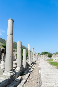 View of the ephesus ancient city