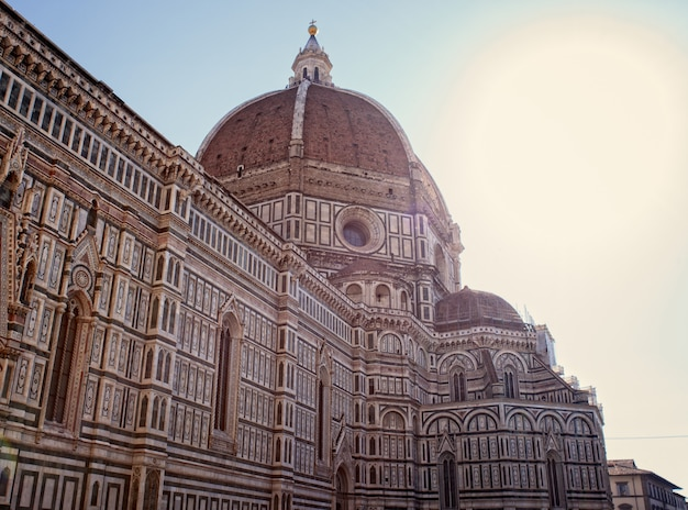 View of the florence cathedral