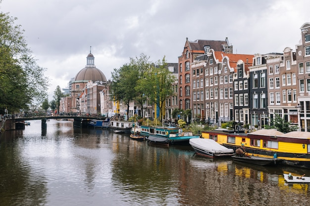 View from amsterdam, holland, the netherlands.