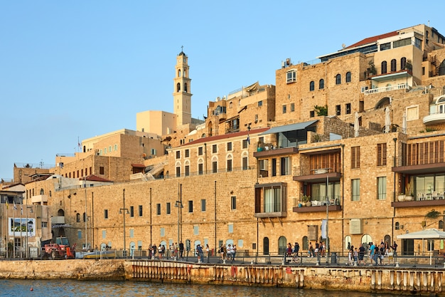 View from the pier on the old jaffa