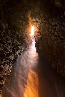View from roche cove at conil de la frontera, cadiz, andalucia, spain.