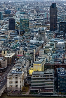 View from the shard in london on december 6, 2013