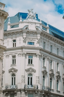 Вид с собора святого стефана на площадь штефансплац в вене