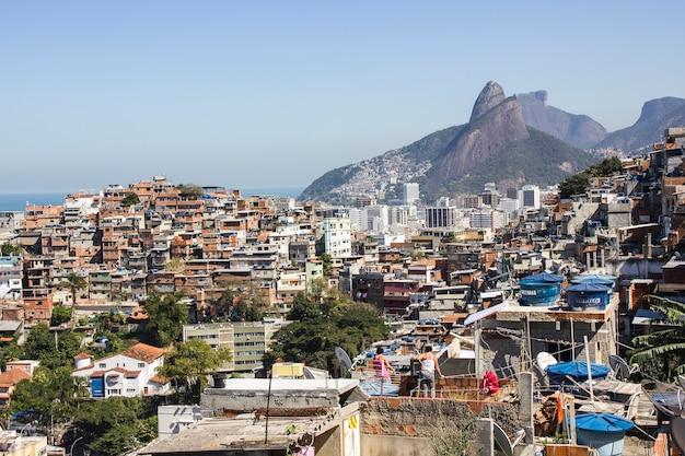リオデジャネイロのカンタガロの丘の上からの眺め