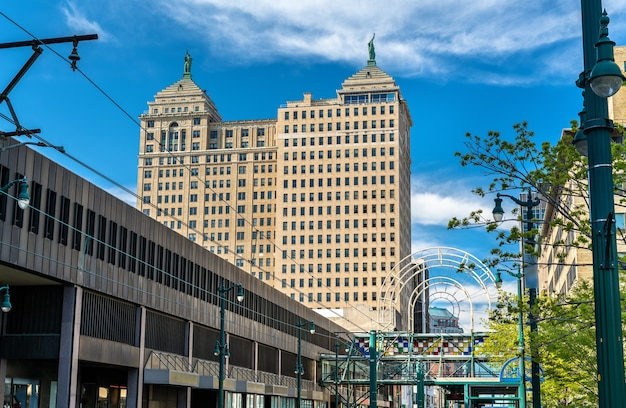 View of the liberty building in buffalo
