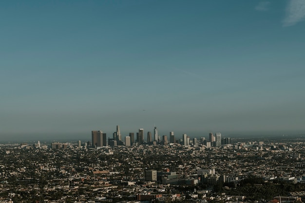 View of los angeles city, usa