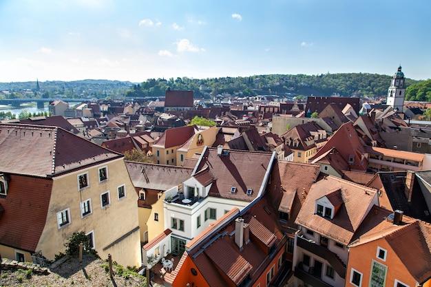 View of meissen in germany