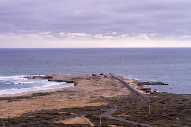 View of the most western point of ecuador