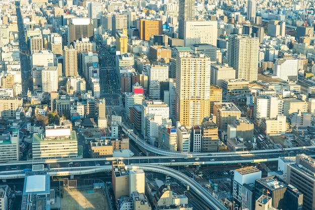 View of nagoya cityscape in nagoya, japan