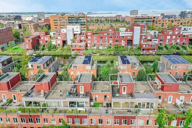 Вид на жилой район