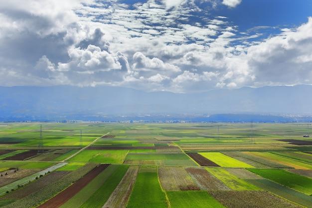 シカヤの農作物の表示