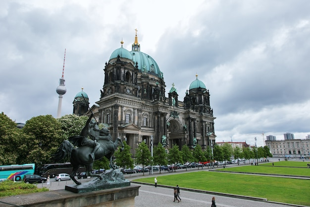 ベルリン大聖堂、博物館島、ベルリン、ドイツのベルリン大聖堂の眺め