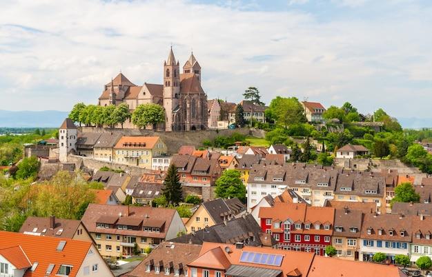 ブライザッハの町の眺め