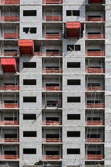 Вид на строительную площадку