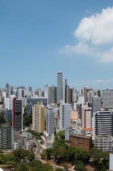 살바도르 바이아 브라질의 도시에서 건물의 전망.