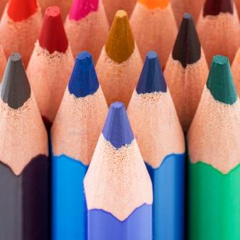 色鉛筆の表示