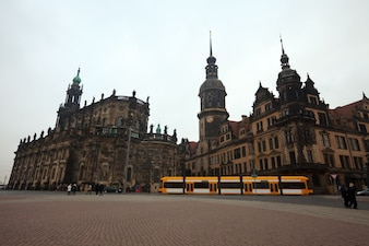 View of Dresden, Germany