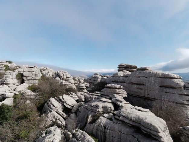 エル トルカル デ アンテケラ自然公園の眺め。