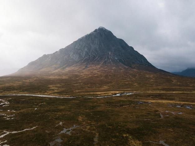 スコットランド、グレン・エティーブの眺め