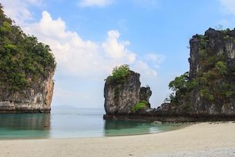 View of koh hong island krabi, Thailand