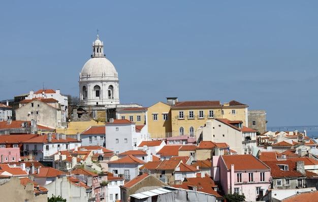 ポルトガルのリスボンの眺め