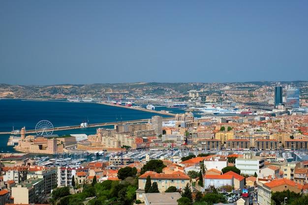 マルセイユの町の眺めマルセイユフランス
