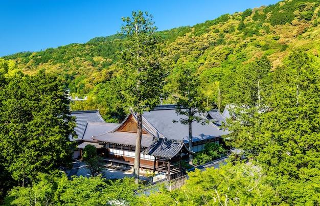 교토, 일본의 난 젠지 사원보기