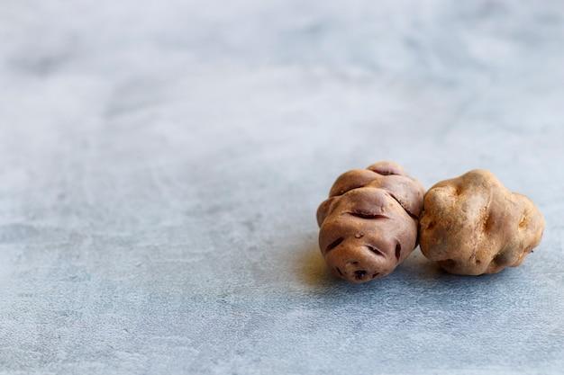 ペルー原産のジャガイモの眺め