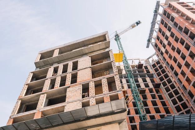 Вид нового строящегося здания