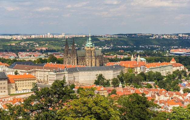 プラハ城の眺め