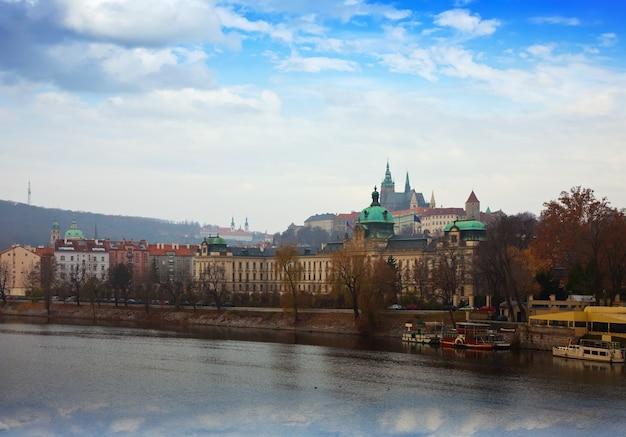 プラハの眺め。チェコ
