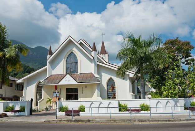 빅토리아, 마헤 섬, 세이셸에서 세인트 폴 대성당의보기