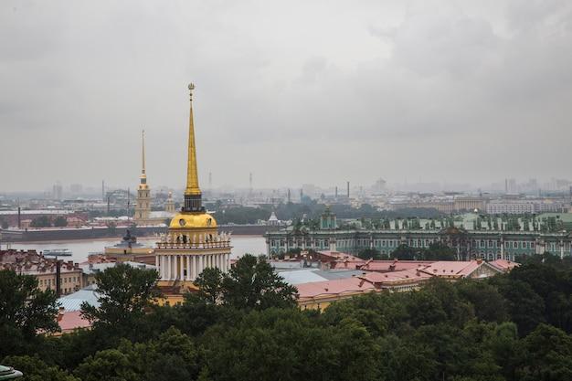 Вид на санкт-петербург, россия