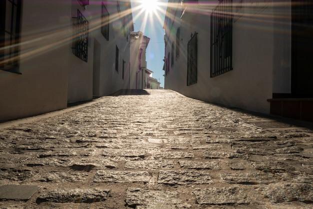スペイン、ミハス村の街並み