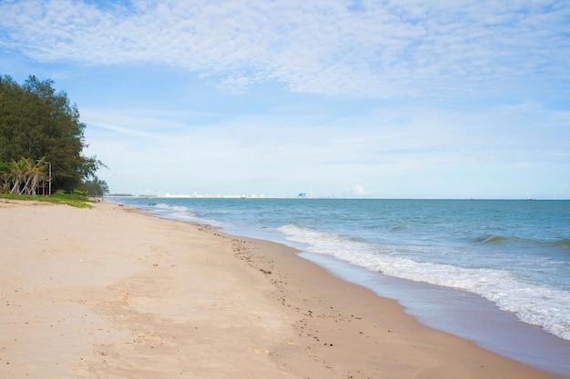 タイビーチの眺め