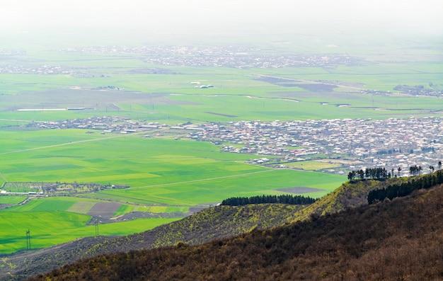 Вид на город агсу