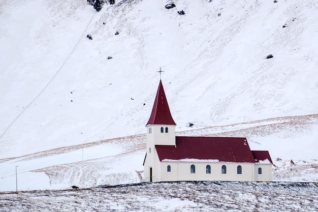 비크 아이슬란드 교회의 모습