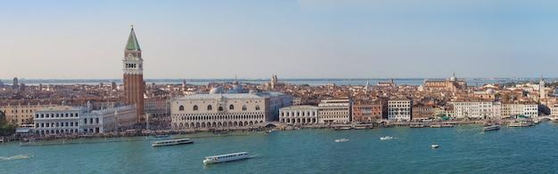 ヴェネツィアの街の眺め