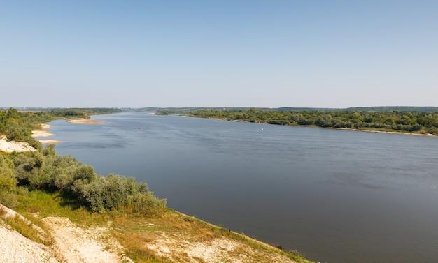大河の眺め