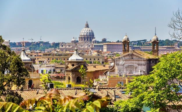 ローマの歴史的中心部の眺め