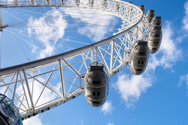 Вид на лондонский глаз
