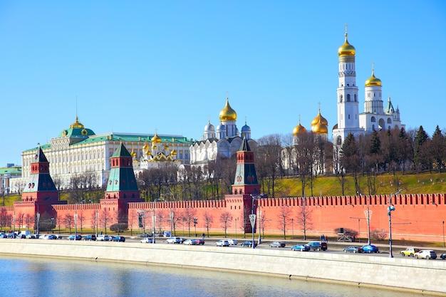 モスクワクレムリン、ロシアのビュー