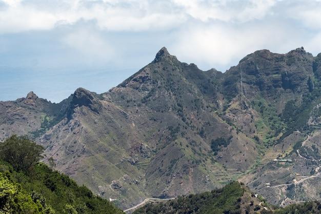 테네리페 산의 보기입니다. 카나리아 제도, 스페인