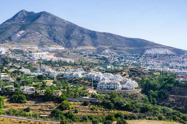 Вид на испанский город