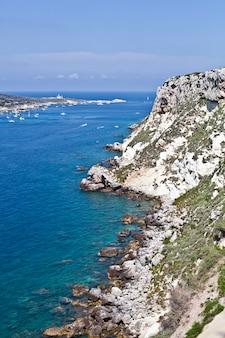トレミティ諸島の景色。