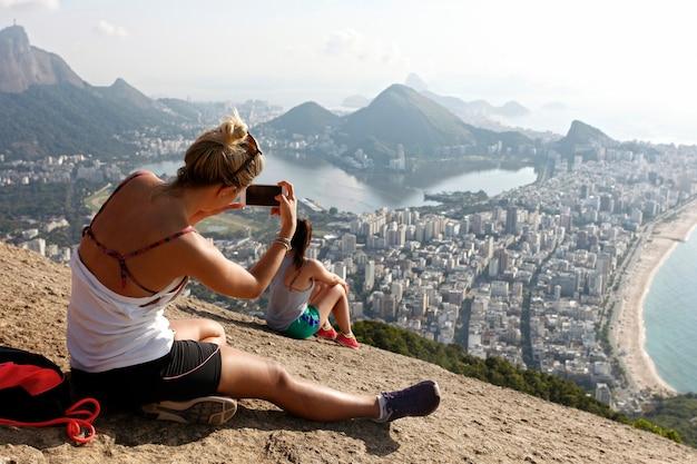 二人の兄弟の山、リオデジャネイロの眺め