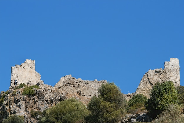 View on old castle