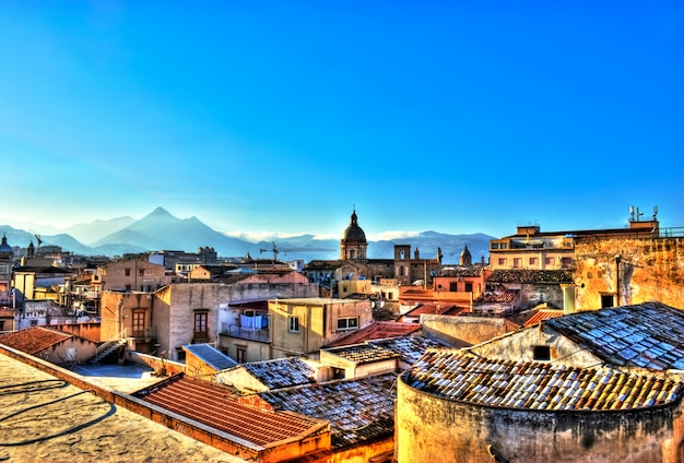 View of palermo in the hdr