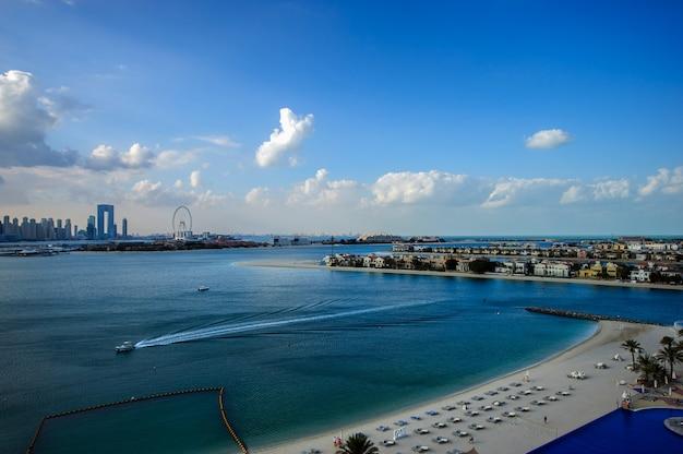 View of palm island to ashana residence